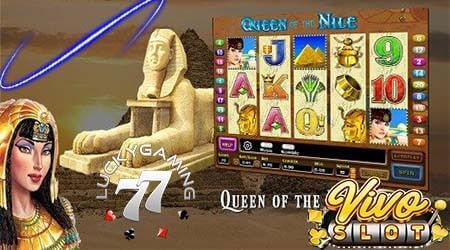 Vivo Slot Gaming Raih Kemenangan Bersama Slot Queen Of Nile